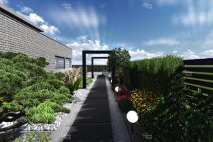 NGS12-2-Modul-ogrodowy-ciag-komunikacyjny-wzdluz-ogrodzenia-projekty-ogrodow-ogrody-nowoczesne-Projekty-gotowe-New-Garden-Style-300x200