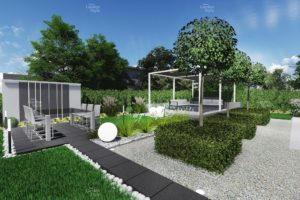 NGS13-1-Modul-ogrodowy-strefa-rekreacyjna--projekty-ogrodow-projekty-gotowe-ogrody-nowoczesne-modulowe-New-Garden-Style-300x200