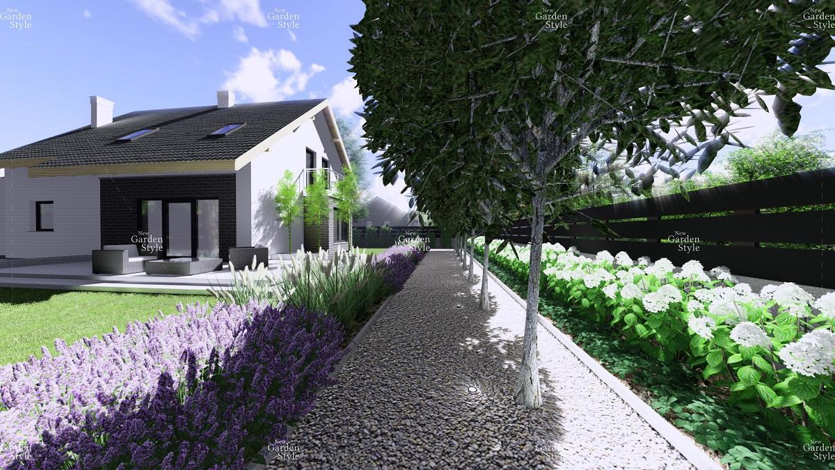NGS1-1-Modul-ogrodowy-wzdluz-ogrodzenia-ciagi-komunikacyjne-projekty-ogrodow-ogrody-nowoczesne-New-Garden-Styl