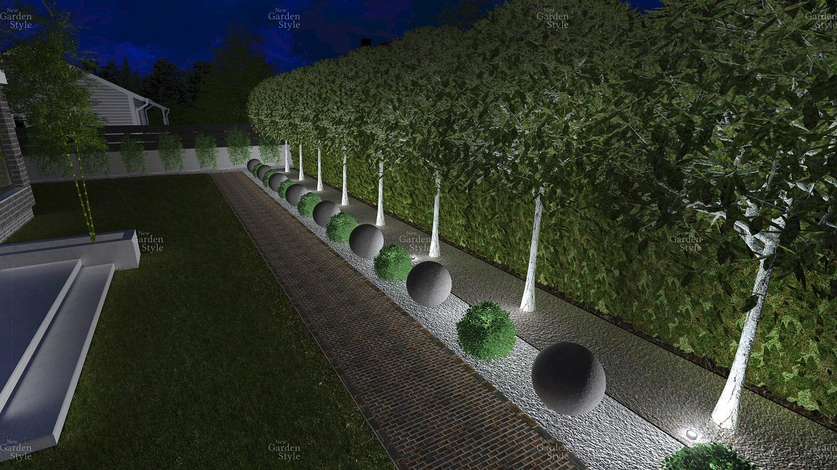 NGS2-3-Modul-ogrodowy-projekty-gotowe-ogrody-nowoczesne-wzdluz-ogrodzenia-ciagi-komunikacyjne-New-Garden-Style