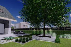 NGS4-1-Moduł-ogrodowy-strefa-rekreacyjna-projekty-gotowe-ogrody-nowoczesne-modułowe-New-Garden-Style-300x200