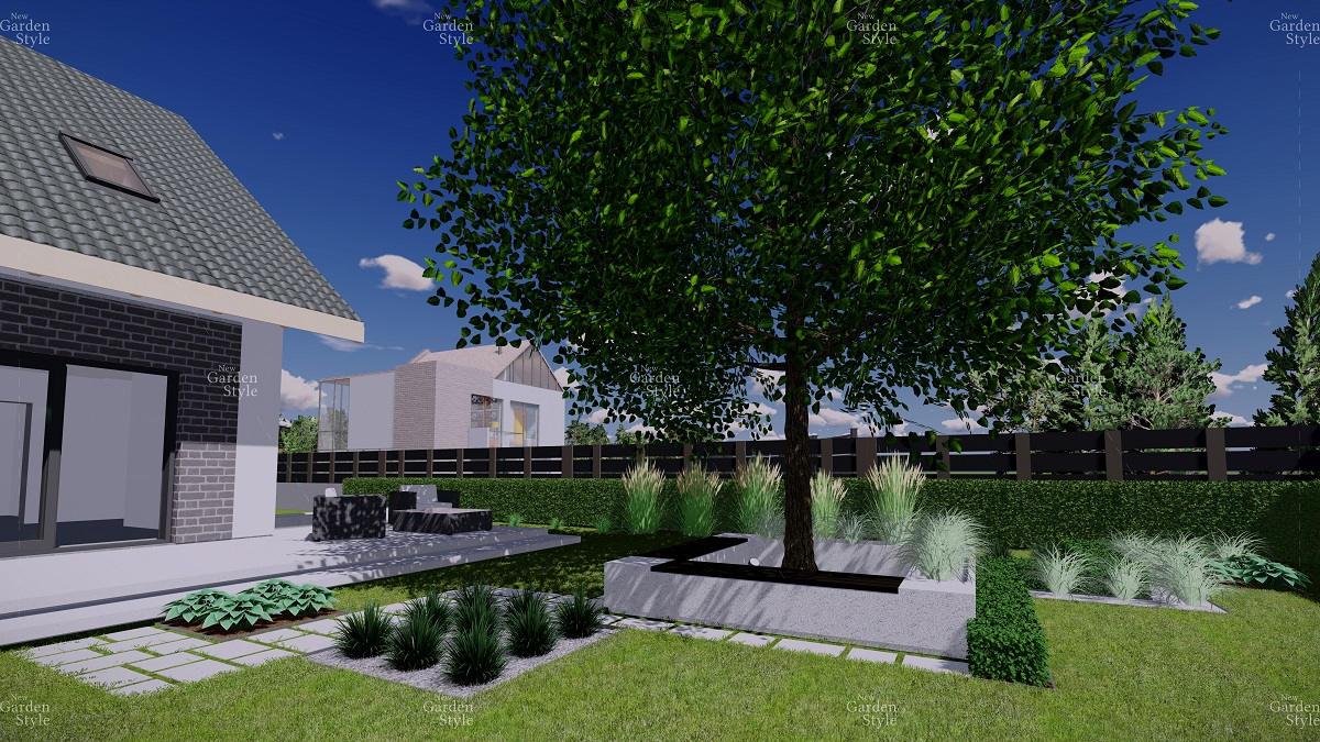 NGS4-1-Moduł-ogrodowy-strefa-rekreacyjna-projekty-gotowe-ogrody-nowoczesne-modułowe-New-Garden-Style
