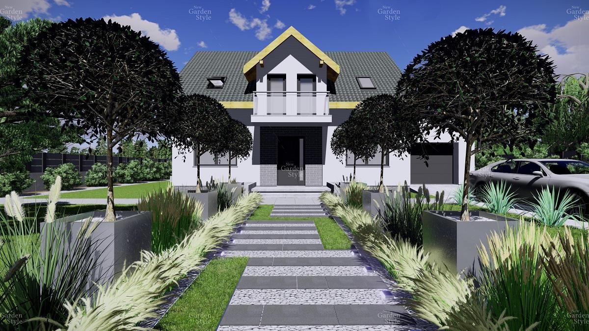 NGS5-1-Moduł-ogrodowy-strefa-frontowa-projekty-gotowe-ogrody-nowoczesne-modułowe-New-Garden-Style