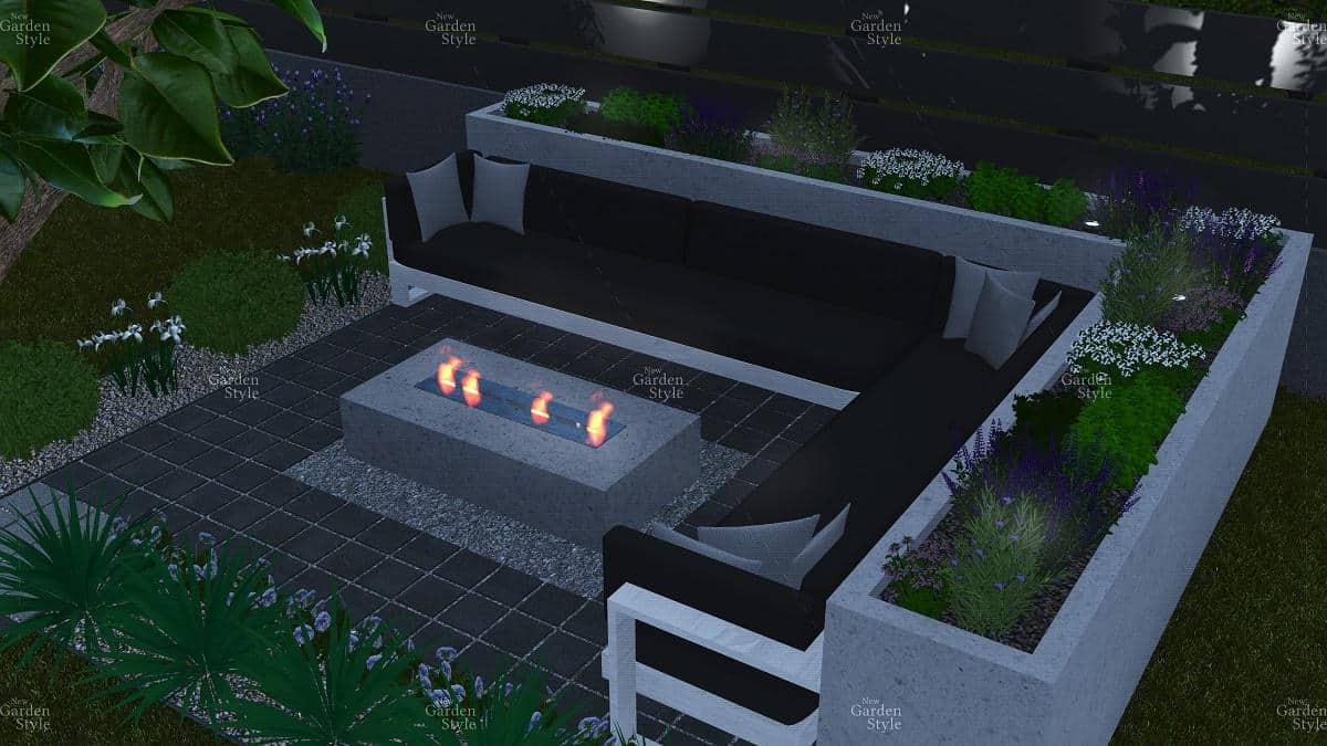 NGS8-2-Moduł-ogrodowy-ogień-palenisko-projekty-ogrodów-ogrody-nowoczesne-modułowe-New-Garden-Style